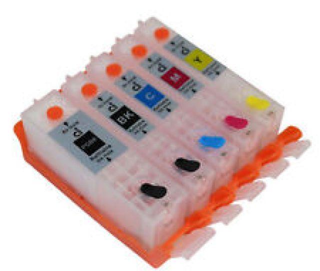For Canon Ip7220 Mg5420 Mg5422 Mx722 Ix6820 Refillable Ink Cartridge Pgi 250 251
