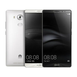 NEW Huawei Mate 8 NXT-L09 32GB 6-Inch LTE Factory Unlocked (Space Gray / Silver)