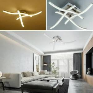 Modern Led 3 4 Light Ceiling Lights Kitchen Living Bedroom Pendant Lamps Uk Ebay