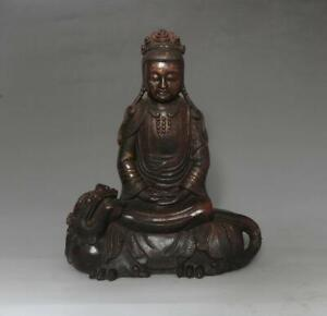 25CM Fine Antique Chinese Bronze or Copper Statue Buddha