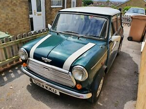 Classic Mini Project MOT'D Austin/Rover Racing Green Ltd Edition!