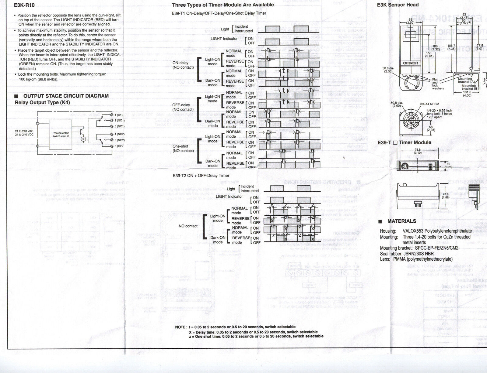 Omron E3k R10k4 Nr Wiring Diagram Free Download Oasis Dl