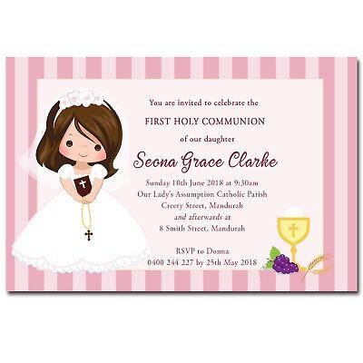 first holy communion invitation ebay