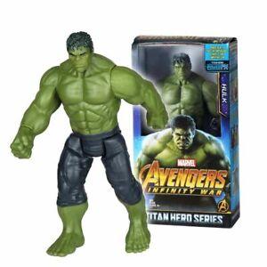 details about marvel avengers figurine 30 cm super heros hulk french seller show original title