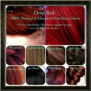 Natural Organic Chemical Free Henna Hair Dyecolor