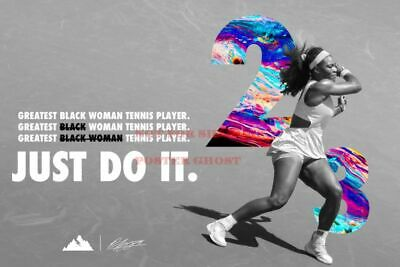 serena williams nike vintage poster advertising promo reprint 24 by 36 inch 2 ebay