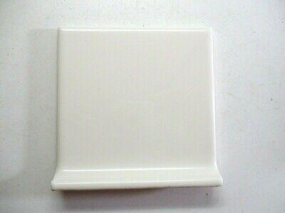 porcelanite p 4 3 8 square gloss off white ceramic cove base radius 1 wall tile ebay
