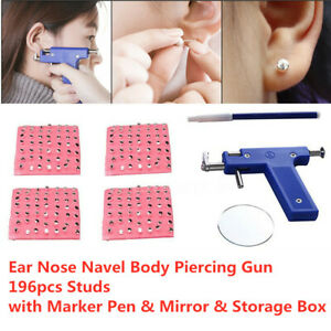 Best Ear Piercing Gun Kit Ebay Bella Esa
