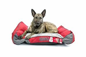 Kong Dog Bed Red Chew Resistant Machine Washable