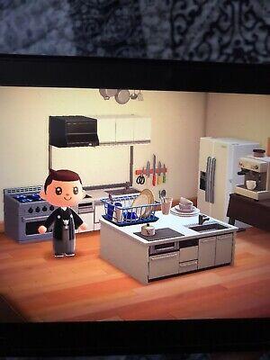 Animal Crossing New Horizons Kitchen Furniture Set Items ... on Kitchen Items Animal Crossing  id=26928