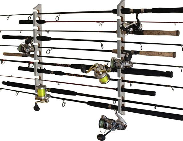 fishing rod storage rack ceiling