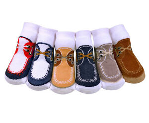 *Adorable Jazzy Toes Socks-DockSiders Look-Gift Set of 6 ...