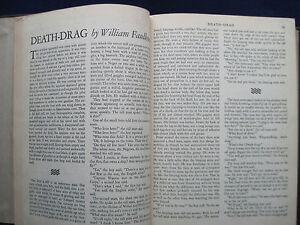 WILLIAM FAULKNER Short Story 'DEATH-DRAG' in Bound Vol. of ...