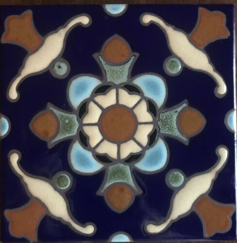 hand painted classic malibu catalina decorative tile available in 6x6 5x5 home decor tile art