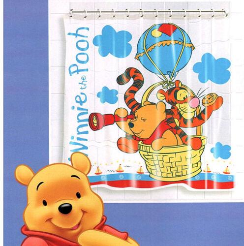 home furniture diy 12 rings new 1404 winnie the pooh waterproof bathroom bath shower curtain kisetsu system co jp