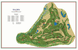 Image result for Erin Hills course map