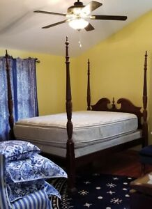 details about macy s four poster queen size bed frame gorgeous