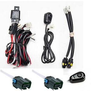 Chevy Silverado Fog Light Wiring Harness Kit 2007 2014