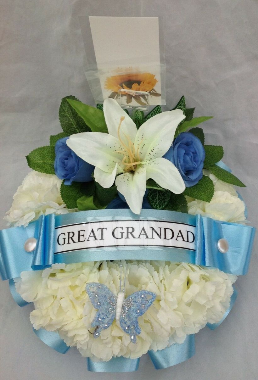 funeral flower card messages examples for grandad  best