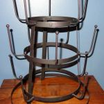 Evelots Vintage Mug Drying Stand Metal Cup Mug Rack Dryer Kitchen Accessories For Sale Ebay