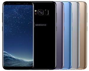 "Samsung Galaxy S8 G950FD Dual Sim (FACTORY UNLOCKED) 5.8"" 64GB Black Gold Blue"