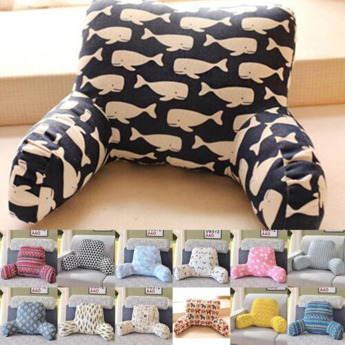 lounger bed rest back pillow support arm stable tv reading backrest seat cushion home garden bedding