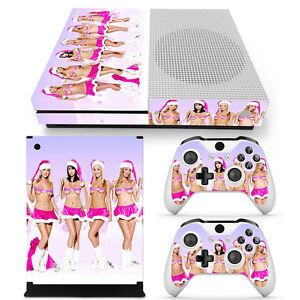 Xmas Girls Xbox One S Sticker Console Decal Xbox One