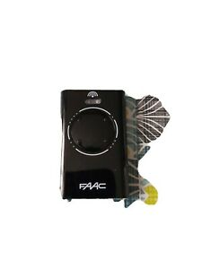 Telecommande Faac Xt4 868 Mhz Slh Lr 4 Canaux 787010 Pour Automatisme Portail Ebay