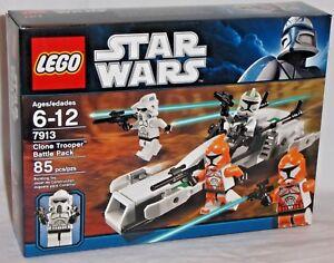 Details About Sealed 7913 Lego Star Wars Clone Trooper Battle Pack Arf Trooper Bomb Squad Set