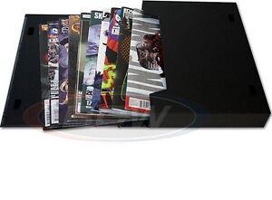 2 BCW Comic Stor Folio Storage Boxes Book Portfolio Carrying Case NEW