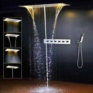 shower system bathroom rainfall shower