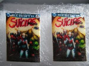 Suicide Squad Comic Book Cover Earrings - Studs Harley Quinn