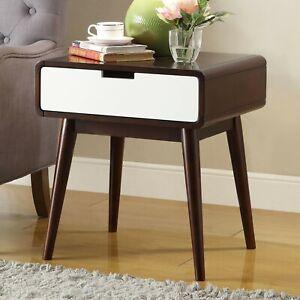 Mid Century Modern Living Room Side Table Novocom Top