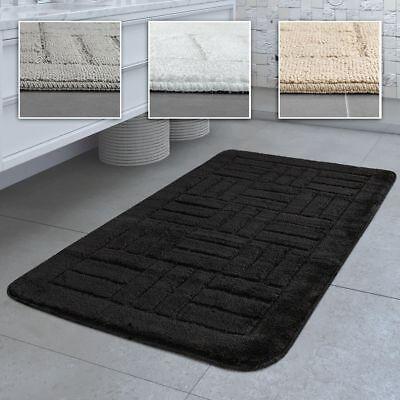 tapis de bain antiderapant salle de bain carreaux dif coloris tailles ebay