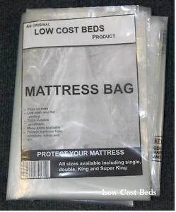 Image Is Loading Polythene Plastic Mattress Protector Storage Bag Matress Transport