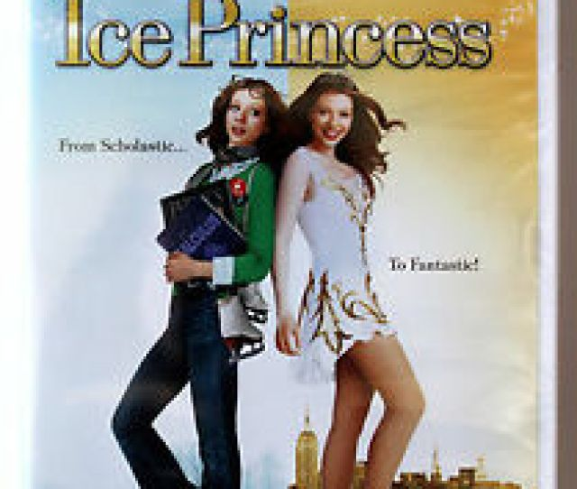 Image Is Loading Disney Ice Princess On Widescreen Dvd Ice Skating
