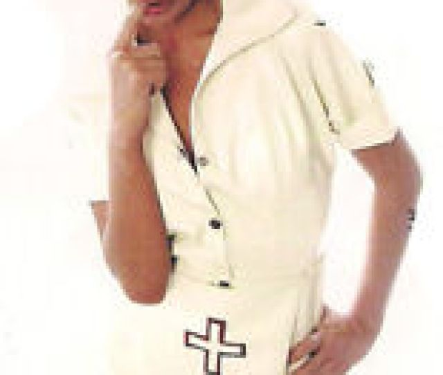 Image Is Loading The Federation Rubber Latex Nurse Dress Brand New