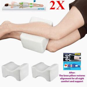 details about 2x knee pillow leg pillow sleeping cushion support between side sleepers