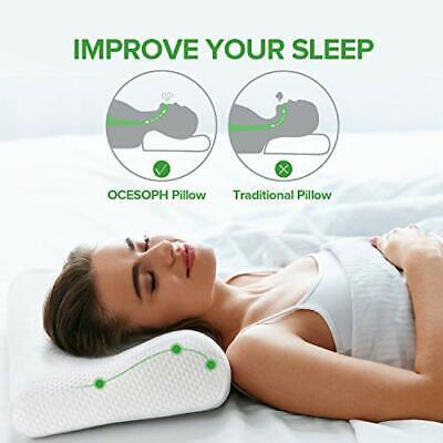 neck pillows for sleeping memory foam pillow cervical pillow for neck pain rel