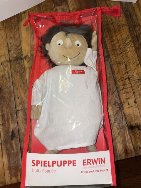 Sigikid Erwin The Little Patient Stuffed Doll Educational ...