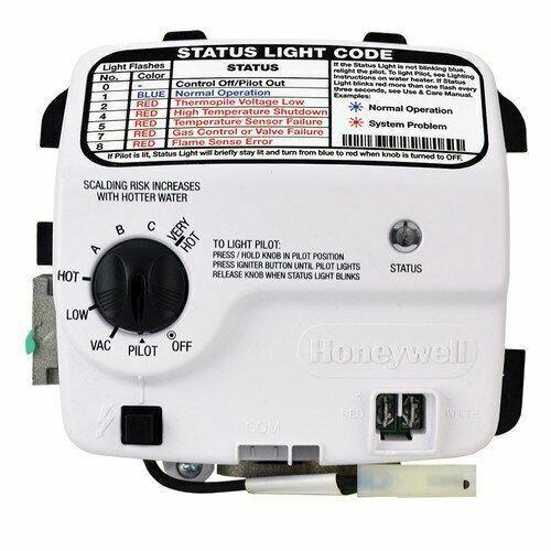 Honeywell Hot Water Heater Status Light Not Blinking