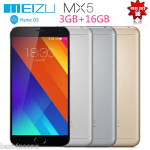 "Meizu MX5 5.5"" 4G SmartPhone Helio X10 Octa Core 20.7 MP 3G+16G Fingerprint ID"