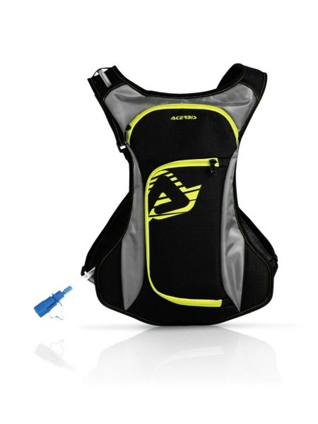 Zaino Moto Cross Camel Bag ACERBIS ACQUA giallo fluo Enduro Mtb Downhill Drink