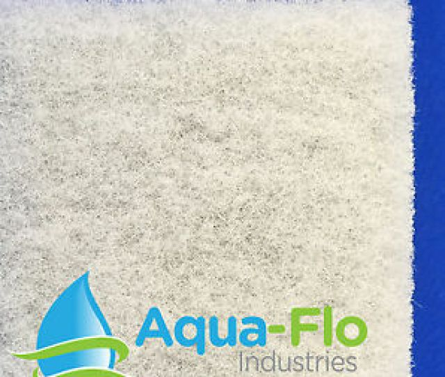 Image Is Loading 2 034 Thick Universal Pond Filter Mat Media
