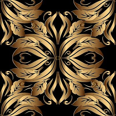 ornate gold baroque tile stickers for 6x6 inches 4x4 and 3x3 tiles ma27 ebay