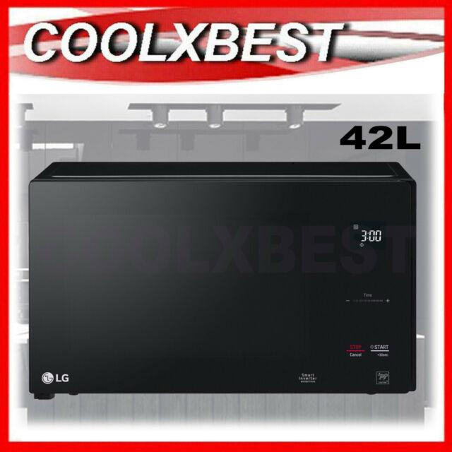 lg neochef 42l smart inverter microwave oven 1200w ms4296obs