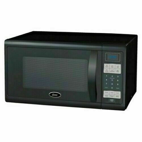 oster 1 1 cu ft 1100 watt digital microwave oven black ogzj1104