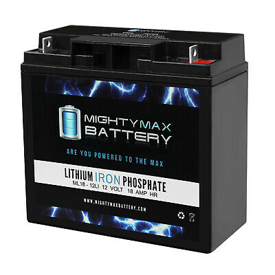 Mighty Max 12V 18AH Lithium Replacement Battery for BMW ...