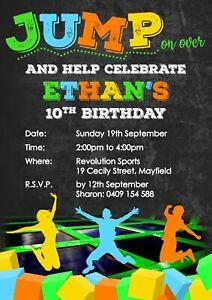 https www ebay com au itm 6 x trampoline park birthday invitations with envelopes 113670199150