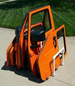 details about full half door holder storage rack holds 4 jeep wrangler doors